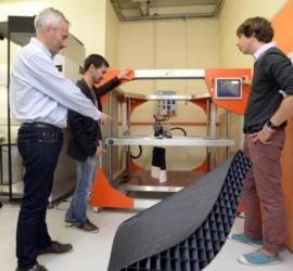 Et voici le premier bateau construit par imprimante 3D !