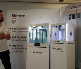 Ultimaker S5, une imprimante 3D plastiques et composites
